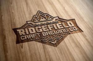 Ridgefield Craft Brewing logo design